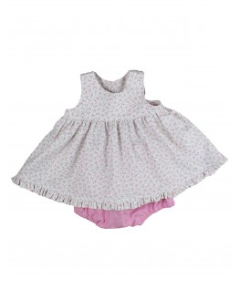 Robe et bloomer Alice Rose