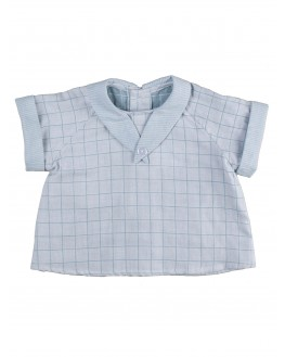 Clovis Short-sleeves Shirt - Céladon