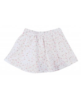 Jupe short Odette Coquillages rose
