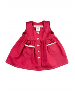 Robe Chasuble Clara Baie Rouge